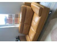 Brand New 2 Seater Islington Sofa in mustard - £400