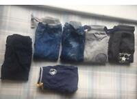 6 pairs of 12-18month boys trousers