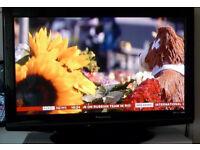 "Panasonic Viera Plasma 37"" TV Model: TX-P37X10B"