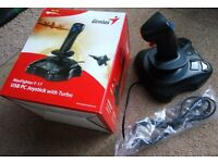 Genius Maxfighter F-17 USB PC Joystick USED ONCE!