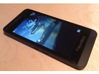 BLACKBERRY Z10 UNLOCKED VERY GOOD CONDITION WITH CHARGER ONLY £60