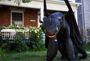Incredible Toothless Costume