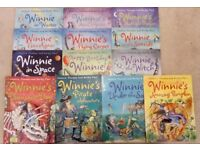 13 Winnie Witch books, good condition