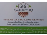 F.A.B Services / Fencing and Building Services