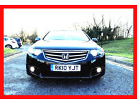 Automatic -- 2010 Honda ACCORD 2.2 AUTO Diesel -- Navigation -- Great Spec LOADED --Part Exchange OK