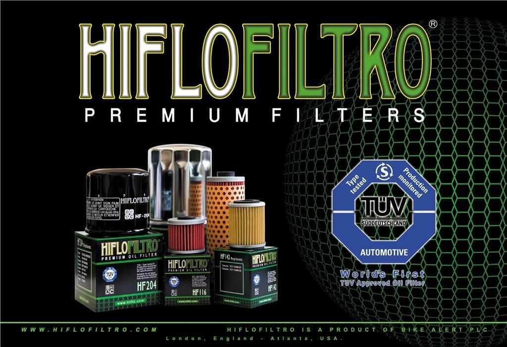200 SAWTOOTH FILTRE A HUILE HF197 HIFLOFILTRO Compatible avec 200 Phoenix