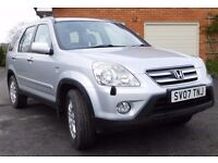 HONDA CRV 2007. LOW MILES EXCELLENT. 2.0 VTEC SPORT MANUAL
