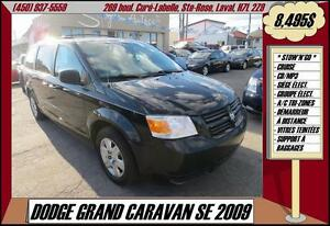 2009 Dodge Grand Caravan SE Stow n Go A/C MP3