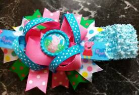 Girls Hairbands - peppa pig, daisy duck, strawberry shortcake and dumbo
