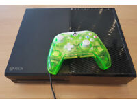Xbox One with wired controller