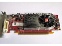 ATI Radeon HD 2400XT 256MB B276 Low Profile LP Dual Display Graphics Card Dell 0CP309