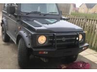 Suzuki sj, samurai winch off-road bumper 4x4