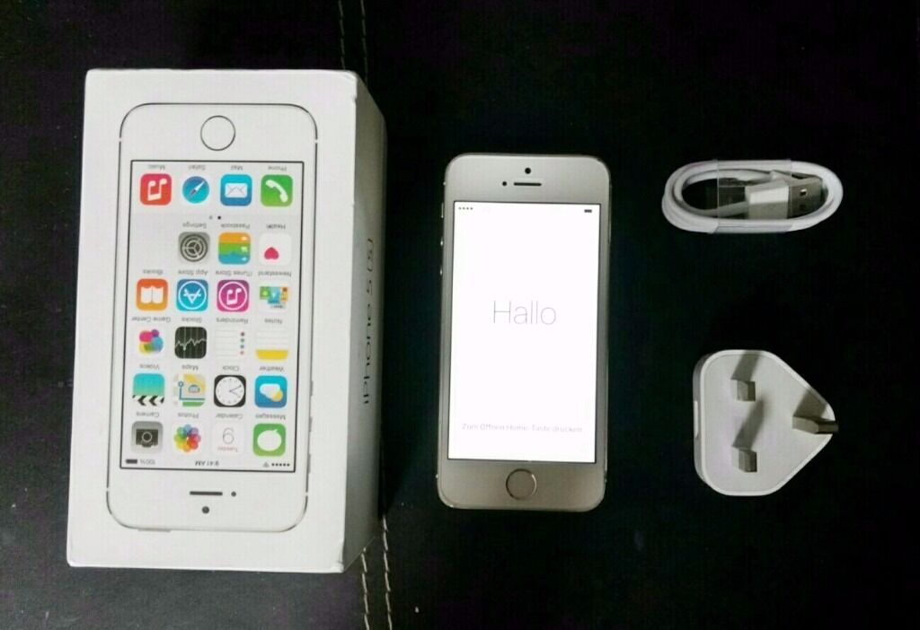 Apple IPhone 5s 16GB VODAFONEin Luton, BedfordshireGumtree - Apple IPhone 5s 16GB VODAFONE This Item Has Normal Scratches , Otherwise .in Great Condition As You Can See The Photos.... Comes With Box Charger and instructoins..Sorry no Sim Pin Thanks