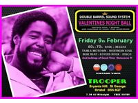 FRIDAY 9th FEBRUARY - 60s 70s SOUL / REGGAE / MOTOWN / DISCO with DOUBLE BARREL - ST GEORGE