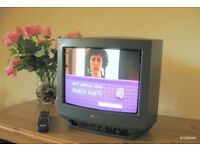 "SONY 14"" FLAT SCREEN TV - RETRO CRT STYLE"