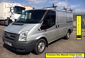 EASTER SALE!!Ford Transit 3.5 Ton Van 2.2 280-1 Owner-FSH -1YR MOT- 70K MILES -Elec Mirrors /Windows