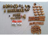 Various Unused Copper & Brass Fittings - LowPrice
