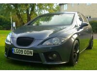MAY SWAP? 2009 SEAT LEON FR TDI 550 LIMITED EDITION FSH