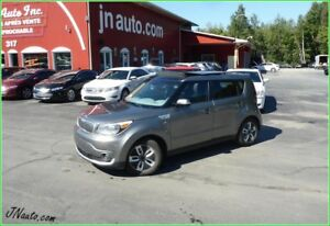 2016 KIA Soul EV Luxury Canadienne  6.6 kwh,recharge 220v/400v c
