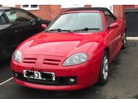 MG TF 53 plate 1.8 135 low mileage