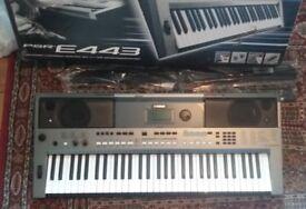 Yamaha PSR-E443 Portable Keyboard/Piano Brand New With Original Packaging