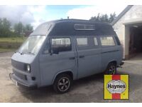 VW Volkswagen T25 transporter camper or day van. Primed ready to paint. Free Haynes manual.