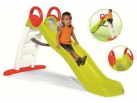 BRAND NEW! Smoby Funny Slide Kids Childrens Garden Wavy Water Slide
