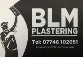 Plasterer BLM plastering