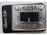 Polished Kilt Belt Buckle