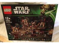 Lego Star Wars: Ewok Village UCS 10236 Retired and Rare BNIB