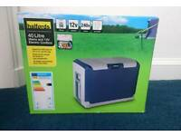 Halfords 40litre Mains and 12v Electric Coolbox - New