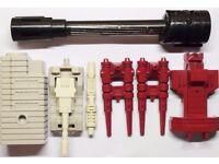 Transformers G1 Metroplex + Megatron Spare Parts/ Accessories
