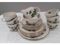 Vintage Swinnertons NESTOR VELLUM IVY design tea set