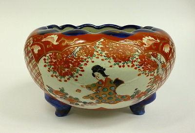 Imari Bowl Pot Japan Meiji 19 Century