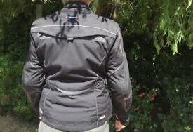 Ladies motorcycle jacket, Halvarssons, size 14/16