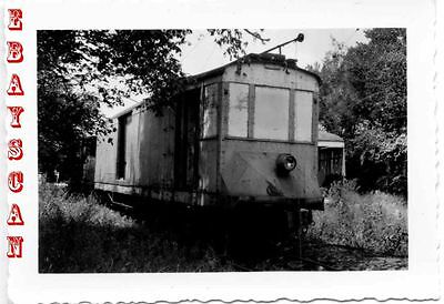 6H450 Rp 1948 Kansas City Public Service Railway Car Abandoned   Storage