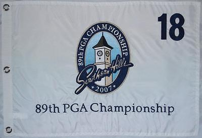 2007 Official Pga Championship  Southern Hills  Embroidered Golf Flag
