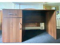 Dark Wood desk.