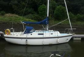 Colvic sailor 26, yacht, sailing boat inc marina berth