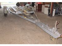 HEAVY DUTY 4 WHEELED BOAT TRAILER FOR BOATS UP TO 26FT/3.5 TONS