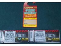 2 X Reading Festival Saturday Ticket 26th August and parking pass - EMINEM Major Lazer Korn Migos