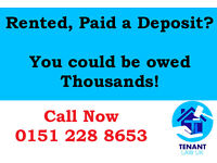Paid a deposit? Then you may be owed thousands! Find out free today.