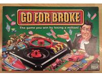 Go For Broke Board Game IDEAL XMAS PRESENT!
