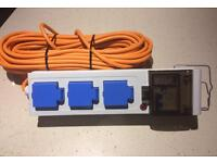 Mobile Mains Site Power Unit for Camping