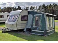 Lunar Ariva 2 Berth with mover and full awning
