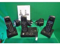 'DORO' NEO BIO 15r + 2 DIGITAL CORDLESS TELEPHONE