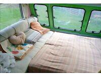 Hand renovated caravan