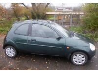 FORD KA 1.3 COLLECTION 2004, 91K, FULL LEATHER SEATS, 7 MONTHS MOT, VGC. L@@K!