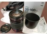 Panasonic 35 - 100 f2.8 OIS Lens