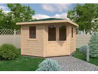 Hastings Log Cabin |3m x 3m | Brand New | Log Cabins Factory Direct